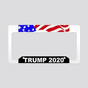 Trump 2020 American Eagle License Plate Holder