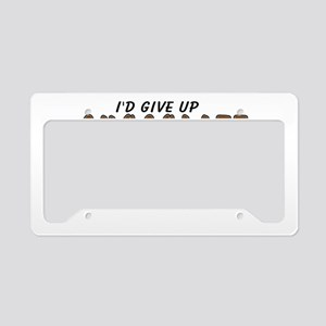 Chocolate Lover's Paradise License Plate Holder