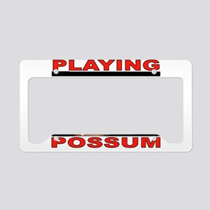 POSSUM License Plate Holder