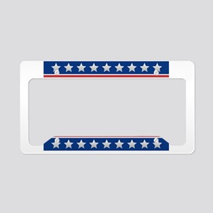 Bush 2020 License Plate Holder