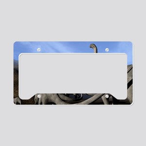 Sauropod dinosaurs License Plate Holder