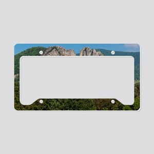 SENECA ROCKS License Plate Holder