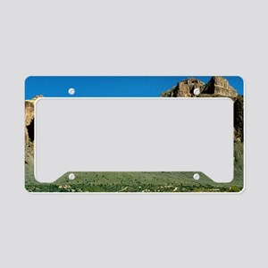 Superstition Mountain9x12 License Plate Holder