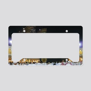 Kaaba Sharif License Plate Holder