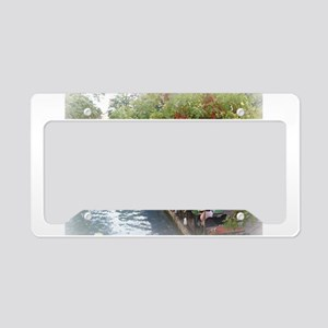 The Riverwalk in Art License Plate Holder
