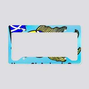 Happy St. Andrews Day License Plate Holder