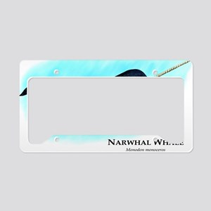 Narwhal Whale License Plate Holder