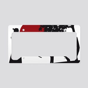 Akita Samurai License Plate Holder