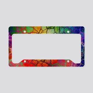 Mosaic License Plate Holder