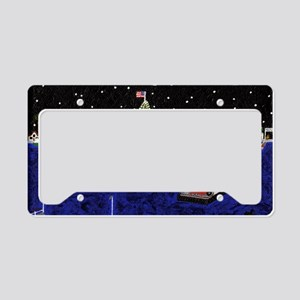 Newport Beach_legendary Harbo License Plate Holder