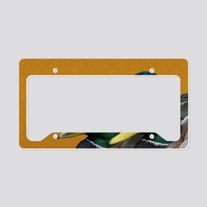 Mallards License Plate Holder