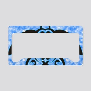 hawaiian honu turtle print License Plate Holder