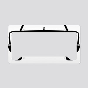 65 Front Black License Plate Holder