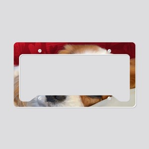 Blenheim Cavalier King Charle License Plate Holder