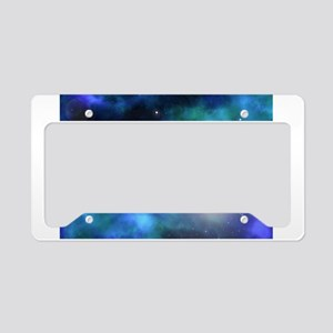 The Amazing Universe License Plate Holder