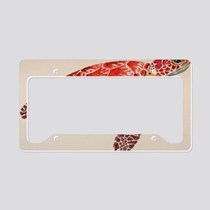 Sea Turtle License Plate Holder