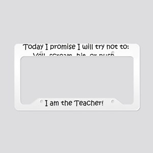 teachercreed License Plate Holder