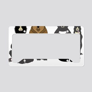 Bears world License Plate Holder