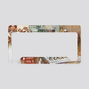 Scandinavian Celebration License Plate Holder