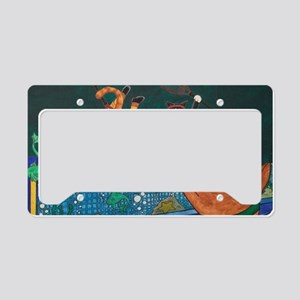 Tennis 2 V 1 License Plate Holder