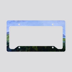 Newport and Lake Mem License Plate Holder