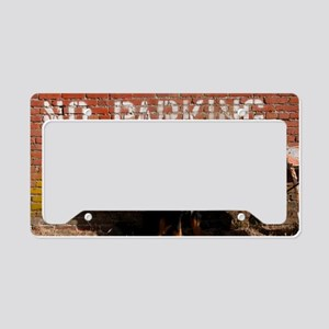 No Barking License Plate Holder