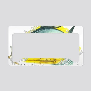 2-SF-006Silver License Plate Holder