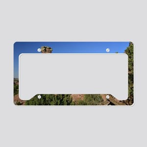 Palo Duro Canyon  License Plate Holder