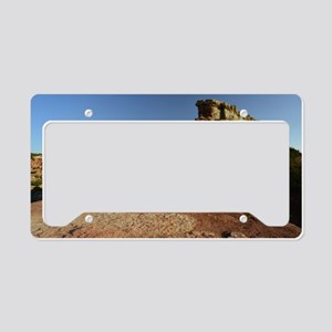Rock Fin at Palo Duro Canyon License Plate Holder