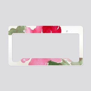 redpeony License Plate Holder