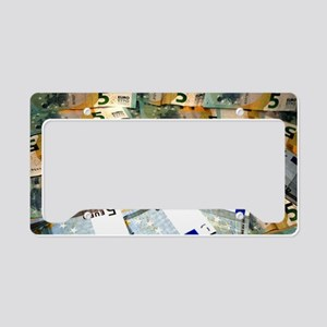 Money License Plate Holder