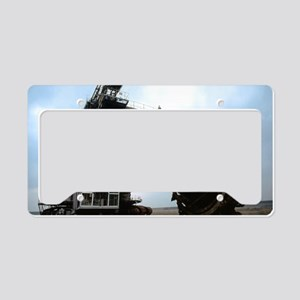 Giant bucket wheel excavator License Plate Holder