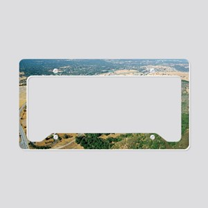 Aerial photo of SLAC Linear A License Plate Holder