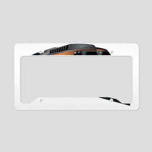 Fast Train License Plate Holder