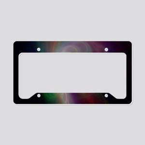Rainbow Storm License Plate Holder