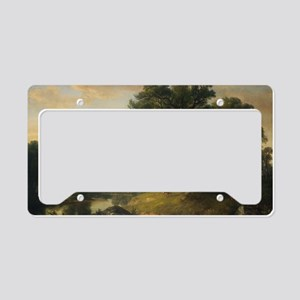 Asher Brown Durand - A Pastor License Plate Holder