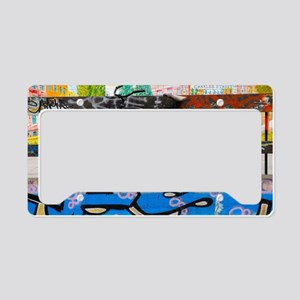 David Walker License Plate Holder