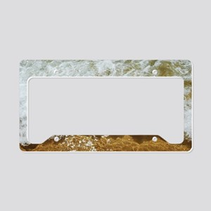 Sparkling ocean License Plate Holder