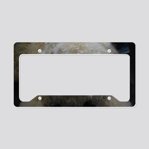 Lagotto Romagnolo License Plate Holder