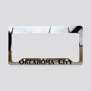 OklahomaCity_18.8x12.6_SkyDan License Plate Holder