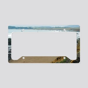 Central Coast Rocks License Plate Holder