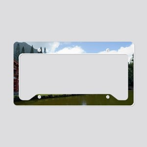 Byodo-In Buddhist Temple License Plate Holder