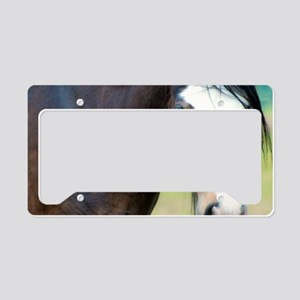 Clydesdale Horse License Plate Holder