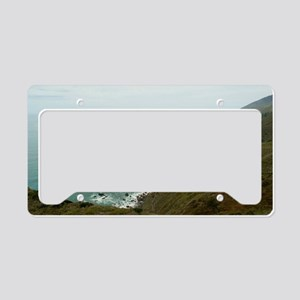 big sur coast License Plate Holder