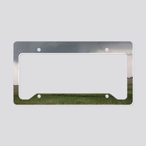 Field Tornado License Plate Holder