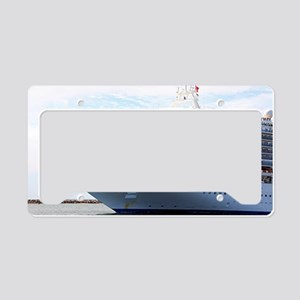 Cruise ship 15 License Plate Holder