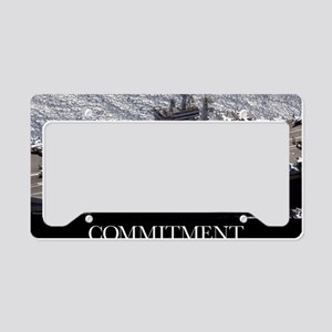 Motivational Poster: USS Nimi License Plate Holder