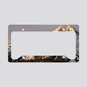 The Lonely Mountain License Plate Holder