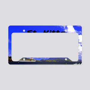 St. Kitts18x12 License Plate Holder