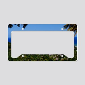 St Lucia 18x12 License Plate Holder